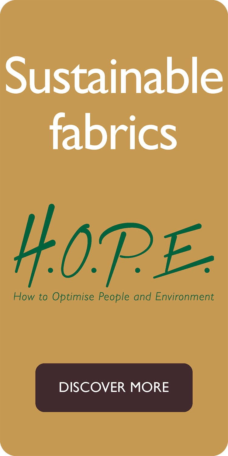 H.O.P.E. sustainable fabrics