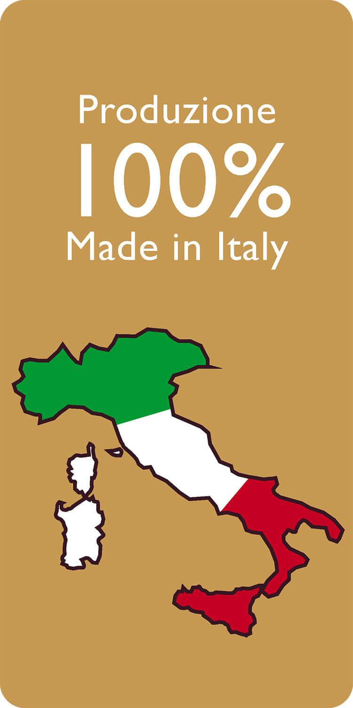 Produzione 100% MADE IN ITALY