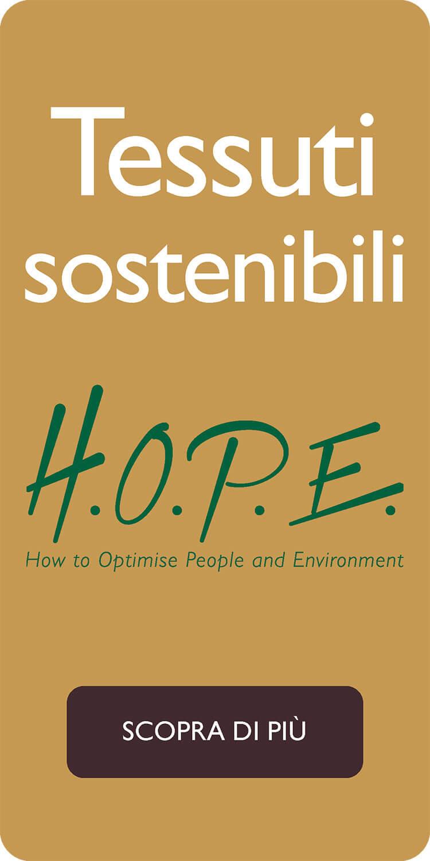 H.O.P.E. tessuti sostenibili