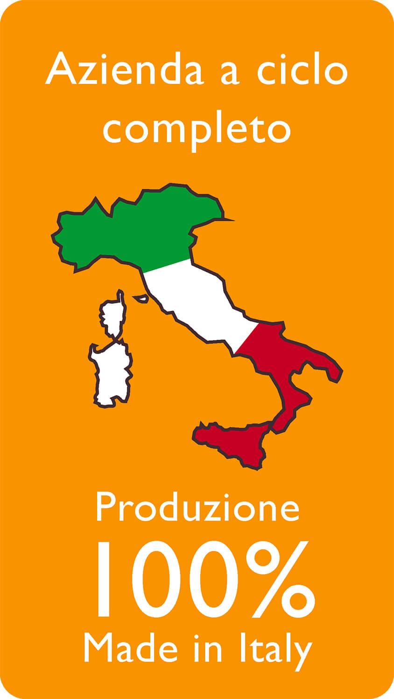 Azienda a ciclo completo Produzione 100% Made in Italy