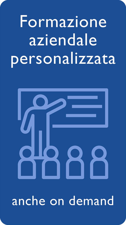 Formazione aziendale personalizzata anche on demand