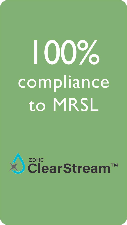 100% compliance to MRSL