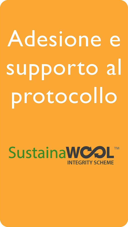 Adesione e supperto al protocollo Sustaina Wool