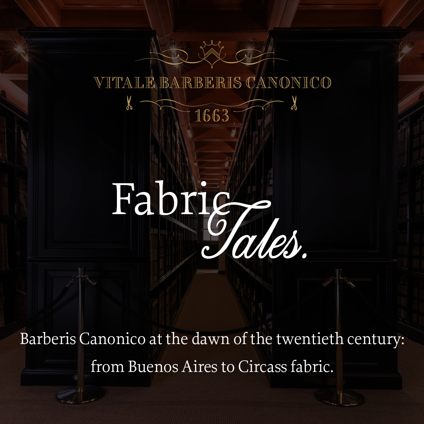 Barberis Canonico at the dawn of the twentieth century: from Buenos Aires to Circass fabric
